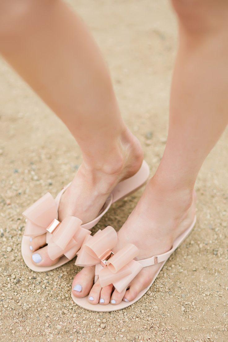 Melissa Pink Harmonic Bow Sandals