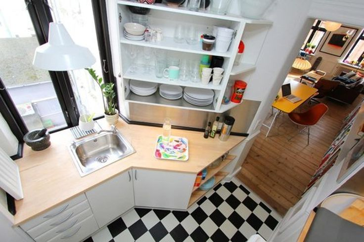 30 Small Cool Kitchens from Real Homes — Kitchen Gallery