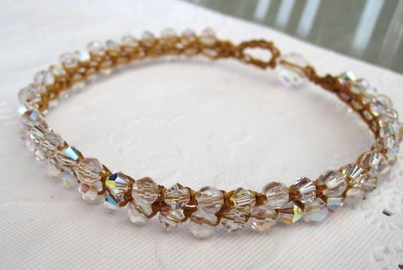 Crochet Tennis Bracelet