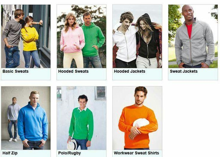 "Sweatshirts, Hoodies, Kauzenjacken, bis 5XL alles in unseren Shop ""www.srs-online.com"""