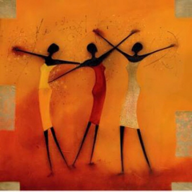 TUCHAS MUY FLACAS /// African Art