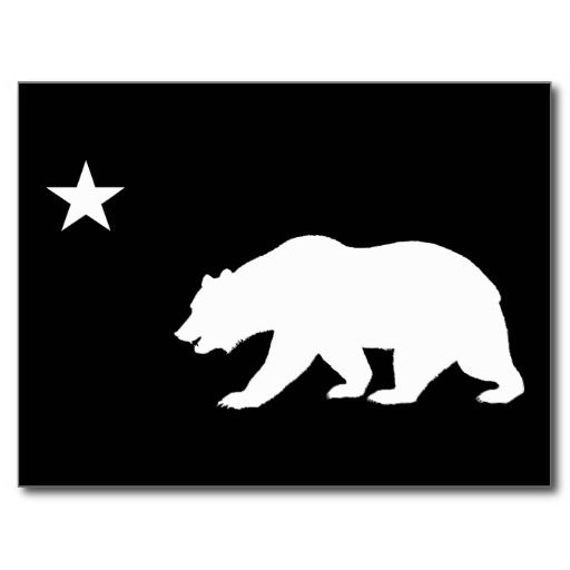 california bear outline