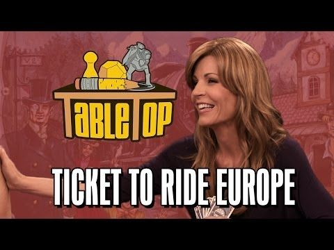 Ticket to Ride Europe: Anne Wheaton, Emma Caulfield, and John Kovalic join Wil on TableTop SE2E19 - YouTube