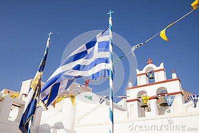 Oia, Santorini #oia #santorini #greekvillage #greece #bluedomes