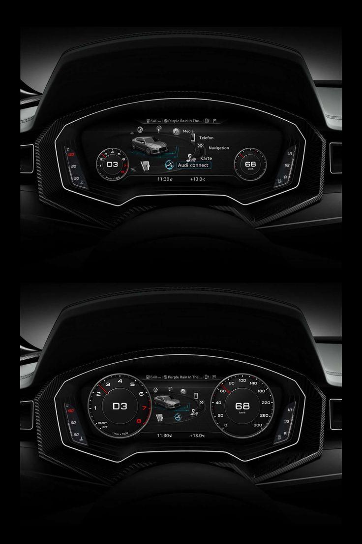 2014 Audi TT  Interior – Virtual Cockpit
