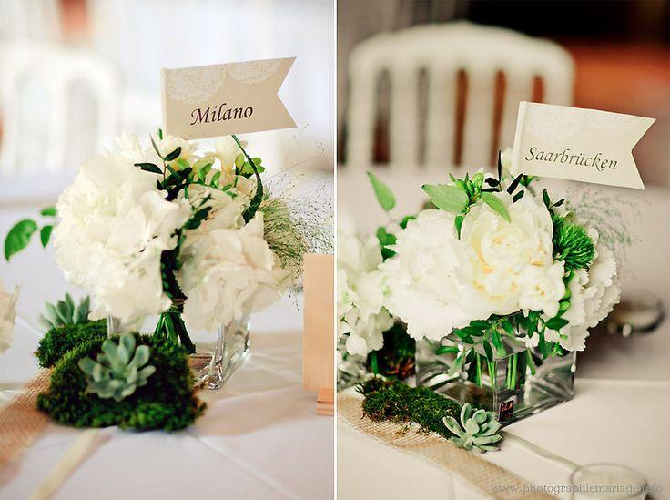 17 best images about inspiration nature vert blanc beige - Centre de table automne ...
