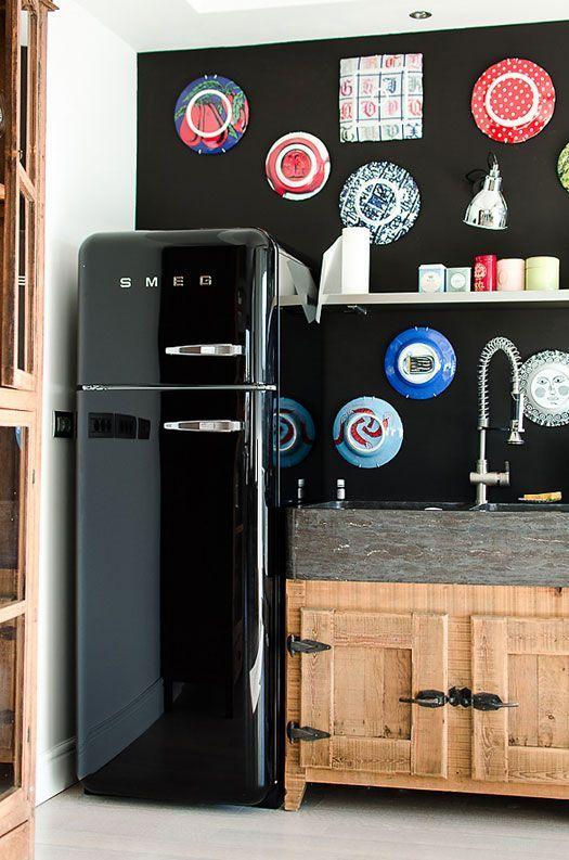 12 modi diversi per arredare col frigo Smeg colorato: che ...