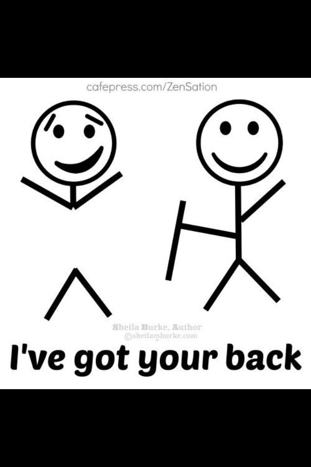 I'm a massage therapist. Don't worry, I've got your back