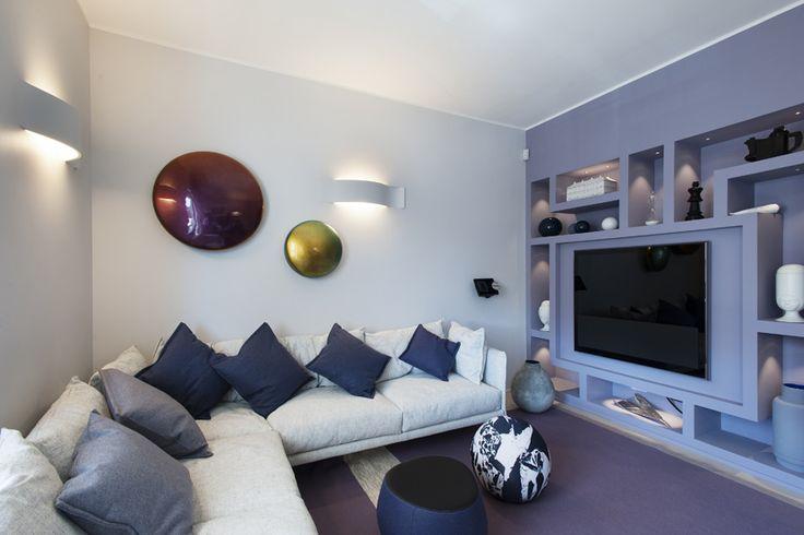Private House in Rome, Andrea Castrignano Interior designer, lighting Nastro Buzzi & Buzzi
