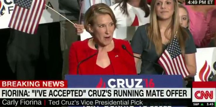 Twitter erupted after Carly Fiorina sang to Ted Cruzs young daughters