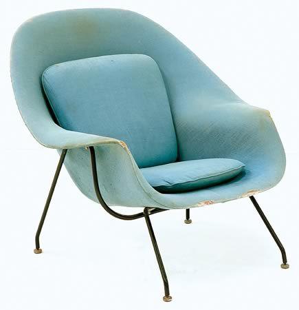 Eero Saarinen Womb Chair, c.…