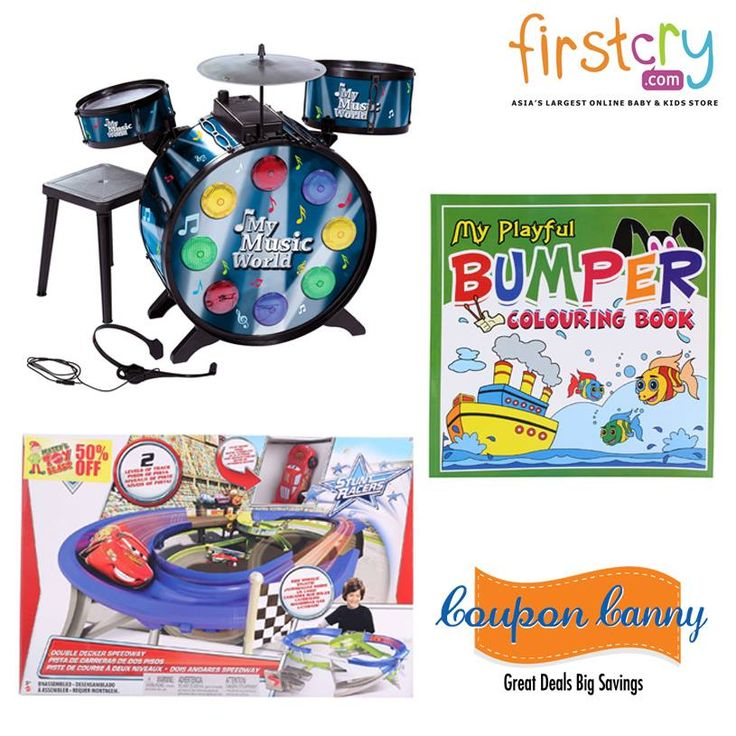 Flat 15% OFF on ‪#‎Musical‬ Instruments,Coloring ‪#‎Books‬ ,‪#‎Toys‬ & ‪#‎Gaming‬ and more at ‪#‎Firstcry‬! Claim Now : http://www.couponcanny.in/firstcry-coupons/
