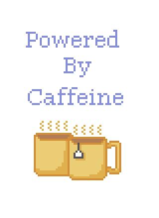 Caffeine Power cross stitch pdf pattern