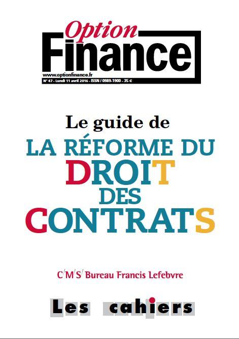 Le guide de la réforme du droit des contrats | 323.67 OPT
