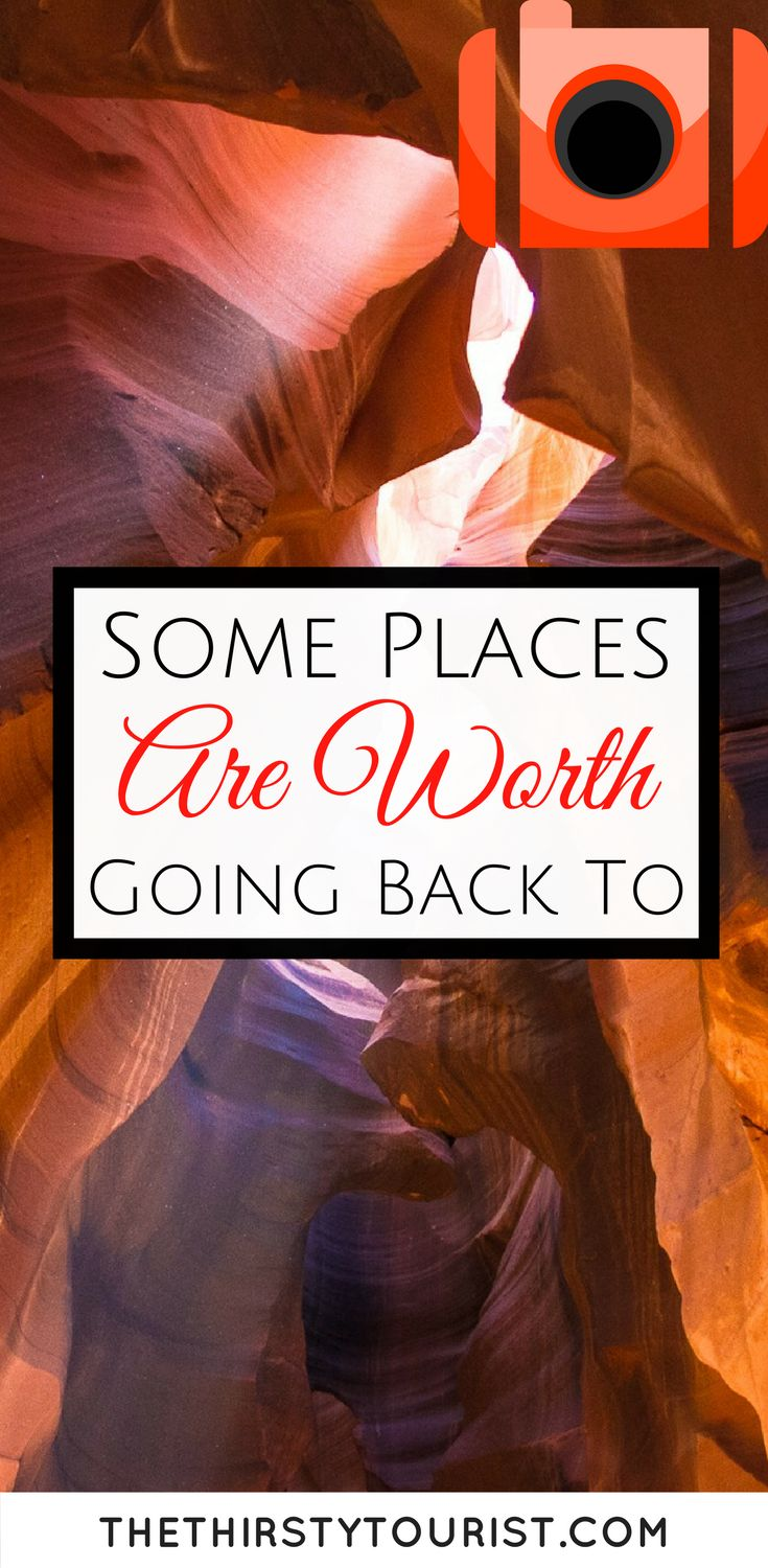 It's a big, big world out there. With so many destinations available, it's often hard to justify visiting the same place twice. But after much soul searching, I've found that indeed some places are worth going back to!