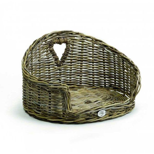 Natural Rattan Wicker Dog Bed