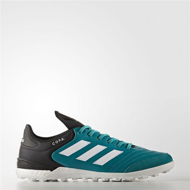 Adidas Copa Tango 17.1 EQT Green Turf Shoes (Eqt Green / Running White / Core Black)