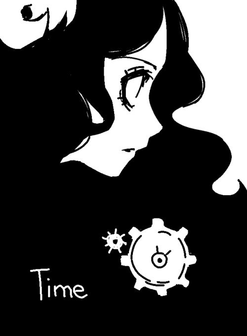 aradia. And I actually can't see this but am suspecting it says time.