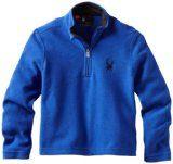 Spyder Boy's Speed Fleece T Neck Shirt - http://www.skichild.com/kids-ski-clothing/spyder-boys-speed-fleece-t-neck-shirt/