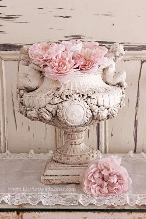 2318 best shabby chic decorating ideas images on pinterest for Shabby chic dekoration