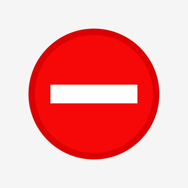 Red Sing Stop And Warning Symbol Vector Isolate On White Background Sign Illustration Warning Png And Vector With Transparent Background For Free Download White Background Free Vector Graphics Symbols