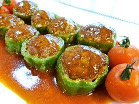 簡単美味しい☆ピーマンの肉詰め♪ by santababy [クックパッド] 簡単おいしいみんなのレシピが239万品