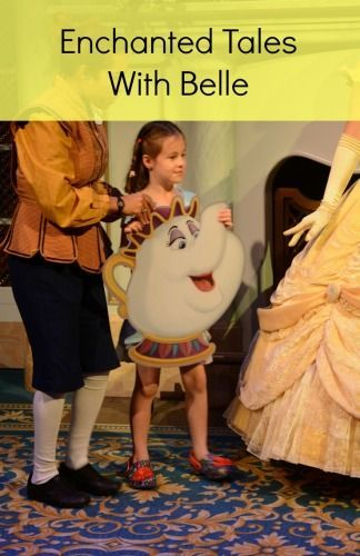 Enchanted Tales With Belle - What to expect at this popular attraction