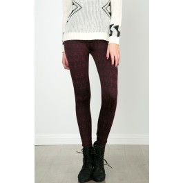 Tribal Soft Lined Leggings