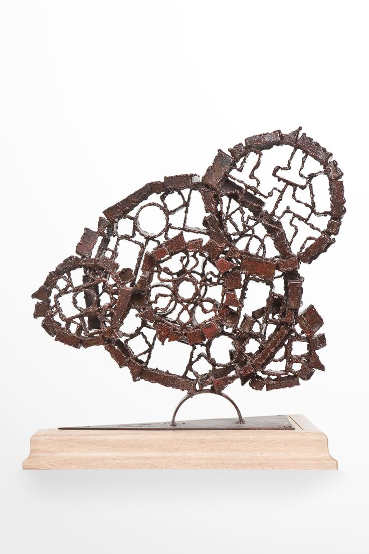 STRANGE MECHANISM #1 - Akelo Andrea Cagnetti - Sculpture Metal