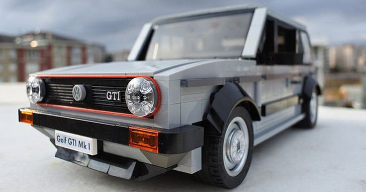 Lego VW Golf GTI Mk1 Needs Our Support To See The Light Of Day #gadgets #Games