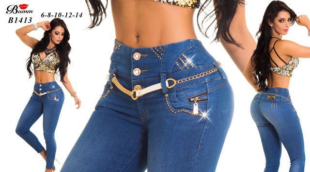 Pathy Modas: Nueva colección de pantalones jeans colombiano levanta cola