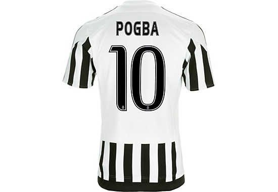 adidas Paul Pogba Juventus Home Jersey for 2015/16. Get yours from www.soccerpro.com today!