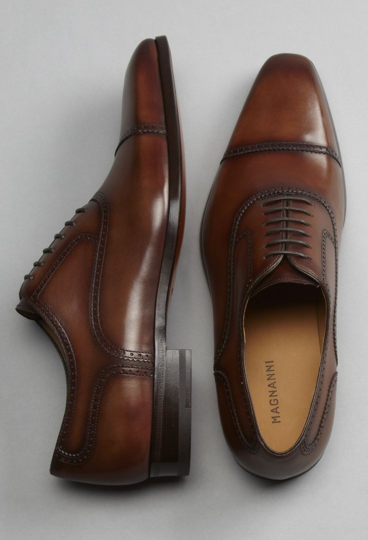 Nice brown oxfords - online shoes mens, large size mens shoes, mens shoes with price