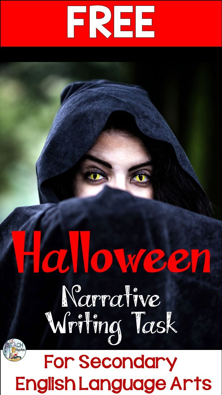 """Use """"The Devil and Tom Walker"""" by Washington Irving to make Halloween connections in your secondary ELA class. In addition to analyzing author's style, students include character, setting, plot, and theme in their own story writing."""