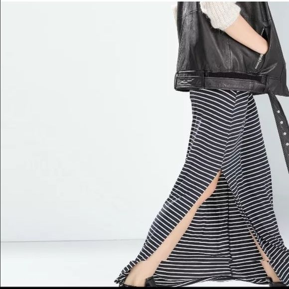 25 best ideas about stripped maxi skirts on