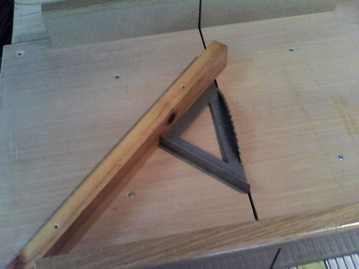 Corte de ngulos a 45 gu a para corte en sierra de - Angulos de madera ...