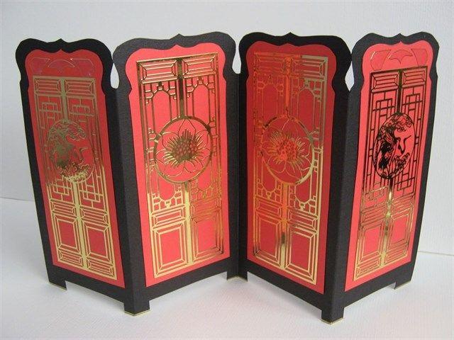 Oriental Screen | docrafts.com