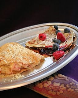 French Crepes: Emmy Mom On, French Crepes, Blueberries Sugar, Crepe Recipes, Breakfast, Crepes Recipe, French Food, Cooking Club, Emmy Momon