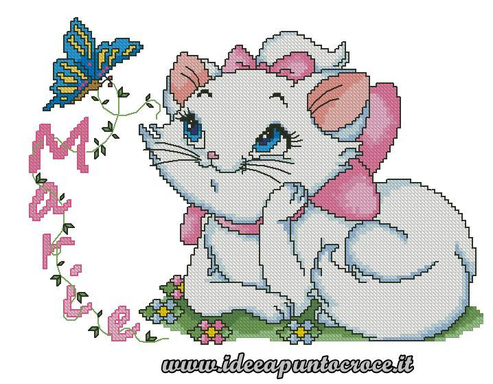 abbastanza 148 best Disney, Aristocat Marie borduren images on Pinterest  IX01