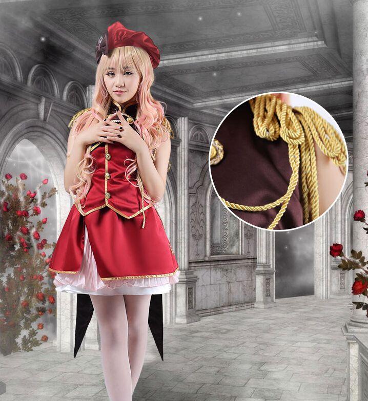 Akame ga Kill! Night Raid Akame Cosplay Costume