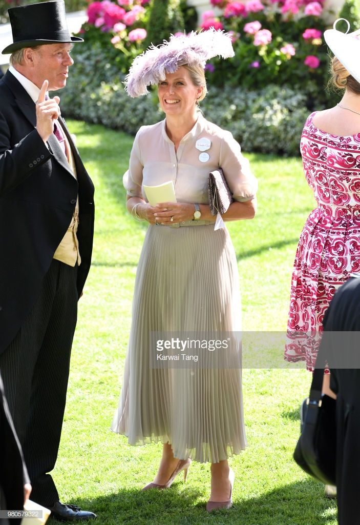 Sophie, Countess of Wessex attends Royal Ascot Day 3 at ...