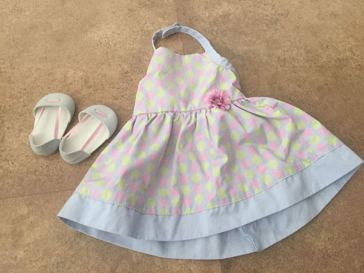American Girl Doll Chrissa Polka-Dot Sundress Outfit - Great Condition | Dolls & Bears, Dolls, By Brand, Company, Character | eBay!