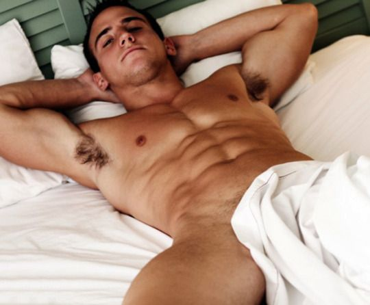 sexy boys in bed