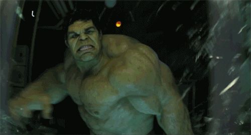 What it usually means: The person that is not me. What it means to a Marvel fan: The green rage monster that Bruce Banner wants to keep a distance from. | Community Post: 21 Things That Mean Something Totally Different To A Marvel Fan