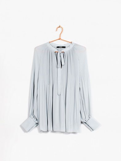 Caroline blouse | 7171327 | Grå | BikBok | Norge