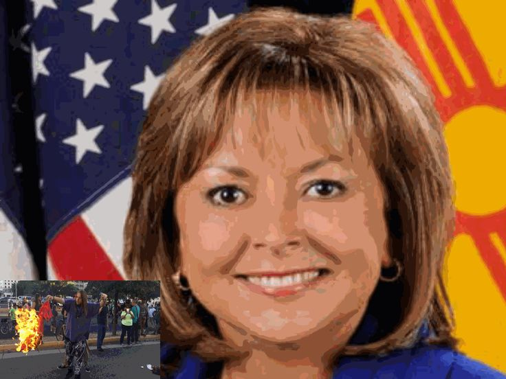 5.25.16 - NEW MEXICIO GOV ADMITS SHE'S AN ANCHOR BABY. Apparently from a long line of CRIMINALS since her family came here ILLEGALLY