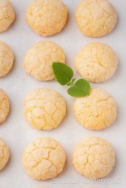 Kokosowe ciasteczka budyniowe