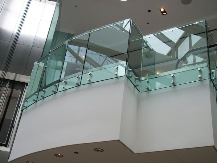 Lovely Balcony Glass Railings Price