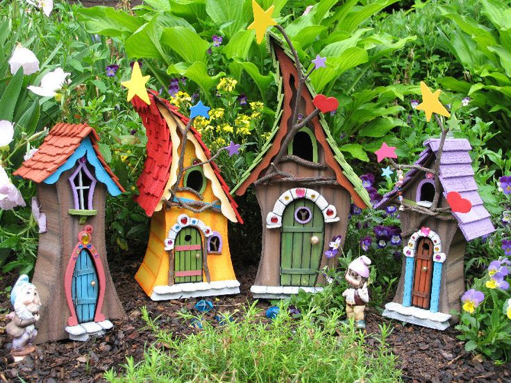 FAIRY+HOUSE+handmade+and+signed+by+former+by+SleepyHollowEnt,+$55.50