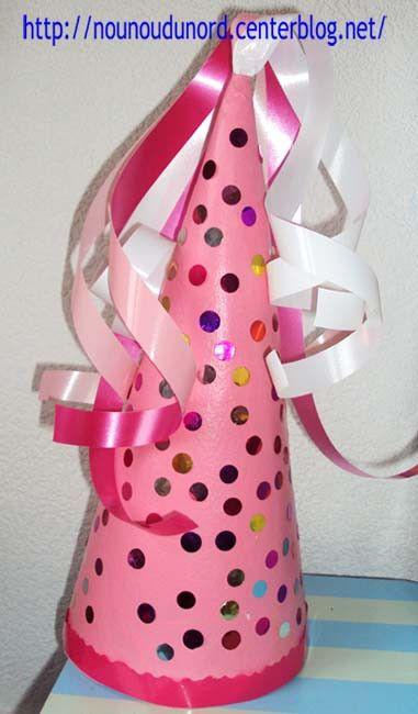 Chapeau de princesse réalisé par Axelle, explications sur mon blog